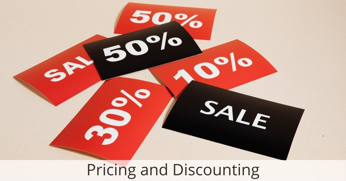 Pricing and Discounting